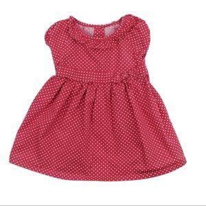 Gymboree Red Polka Dot Dress, Size 3-6 M